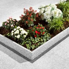 Granit-Rasenkante Hellgrau