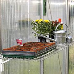 Gartenpro Gewächshausklapptisch