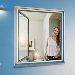 Windhager Insektenschutzgitter für Fenster, ultraflach