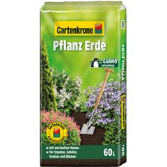 Gartenkrone Pflanzerde mit Guano