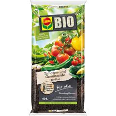 Compo Bio Tomaten- und Gemüseerde torffrei